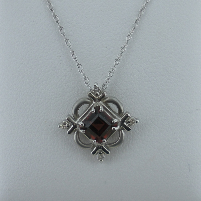 Garnet pendants long jewelers picture aloadofball Image collections