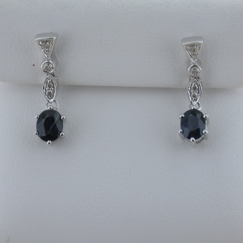 masterpiecejewels cfm antique earrings saphire sapphire diamond